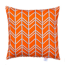 Load image into Gallery viewer, Happy Camper Pillow- Orange - Shop Baby Slings & wraps, Baby Bedding & Home Decor !