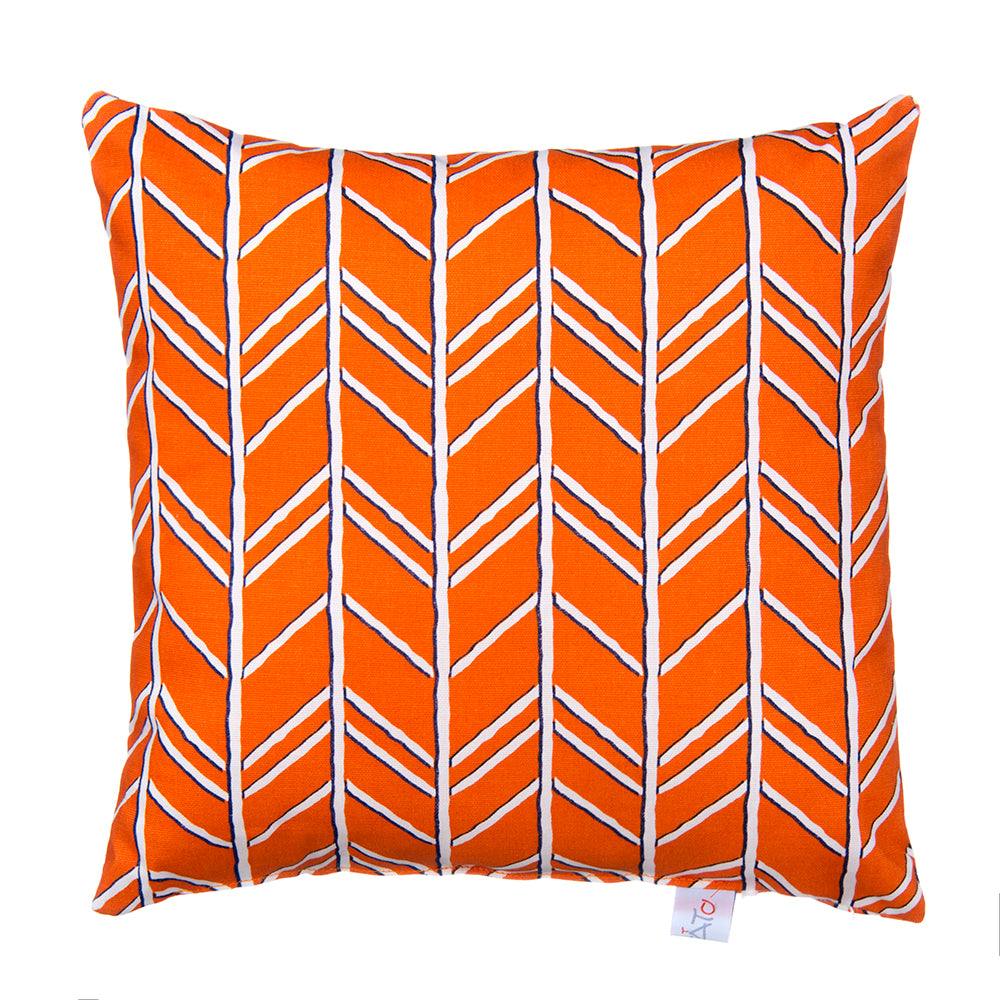 Happy Camper Pillow- Orange - Shop Baby Slings & wraps, Baby Bedding & Home Decor !