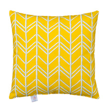 Load image into Gallery viewer, Happy Camper Pillow- Yellow - Shop Baby Slings & wraps, Baby Bedding & Home Decor !