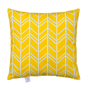 Happy Camper Pillow- Yellow - Shop Baby Slings & wraps, Baby Bedding & Home Decor !