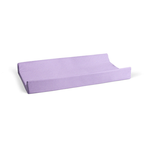 Sweet Pea Changing Pad Cover (Purple gingham) - Shop Baby Slings & wraps, Baby Bedding & Home Decor !