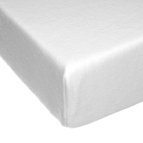 SWEET PEA Fitted Sheet (White Softee)