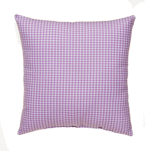 Sweet Pea Pillow Purple Check - Shop Baby Slings & wraps, Baby Bedding & Home Decor !