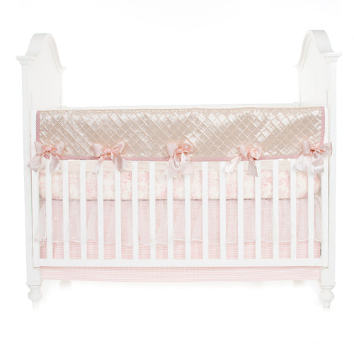 Cottage Rose  Crib Rail Protector - Shop Baby Slings & wraps, Baby Bedding & Home Decor !