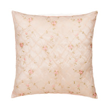 Load image into Gallery viewer, Cottage Rose Pillow - Emb Ovrly face/Pink gingham back - Shop Baby Slings & wraps, Baby Bedding & Home Decor !
