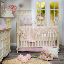 Load image into Gallery viewer, Cottage Rose White Lamp w Pink Gingham Shade - Shop Baby Slings & wraps, Baby Bedding & Home Decor !