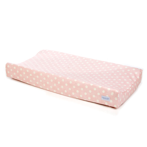CHARLOTTE CHANGING PAD COVER (PINK DOT) - Shop Baby Slings & wraps, Baby Bedding & Home Decor !