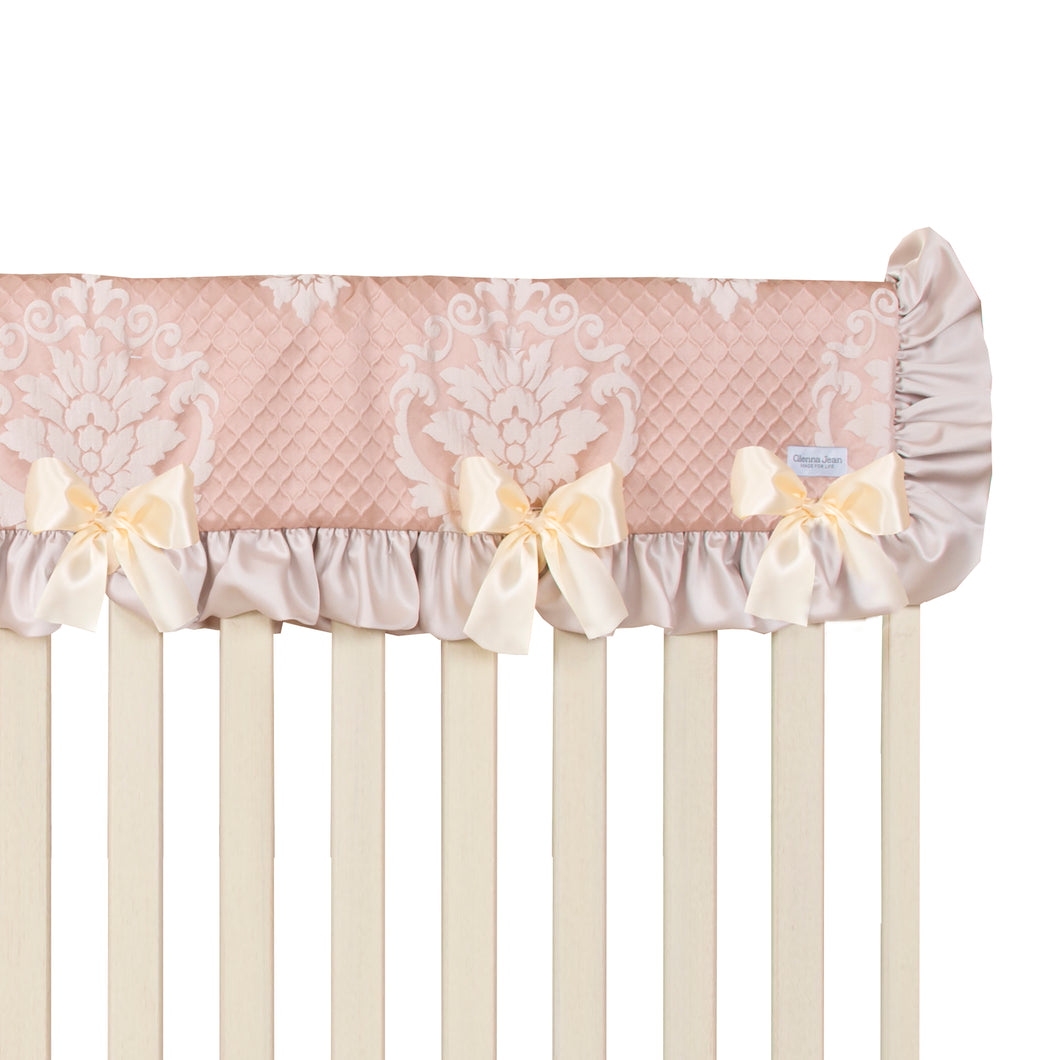 Angelica Convertible Crib Rail Protector - Long (Individual) - Shop Baby Slings & wraps, Baby Bedding & Home Decor !