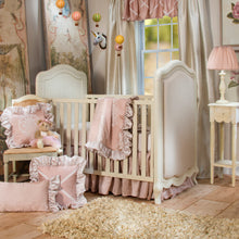 Load image into Gallery viewer, Angelica Crib Skirt - Shop Baby Slings & wraps, Baby Bedding & Home Decor !