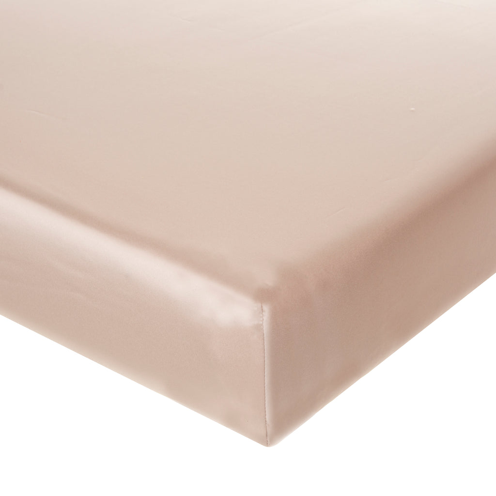 Angelica Fitted Sheet (Champagne) - Shop Baby Slings & wraps, Baby Bedding & Home Decor !