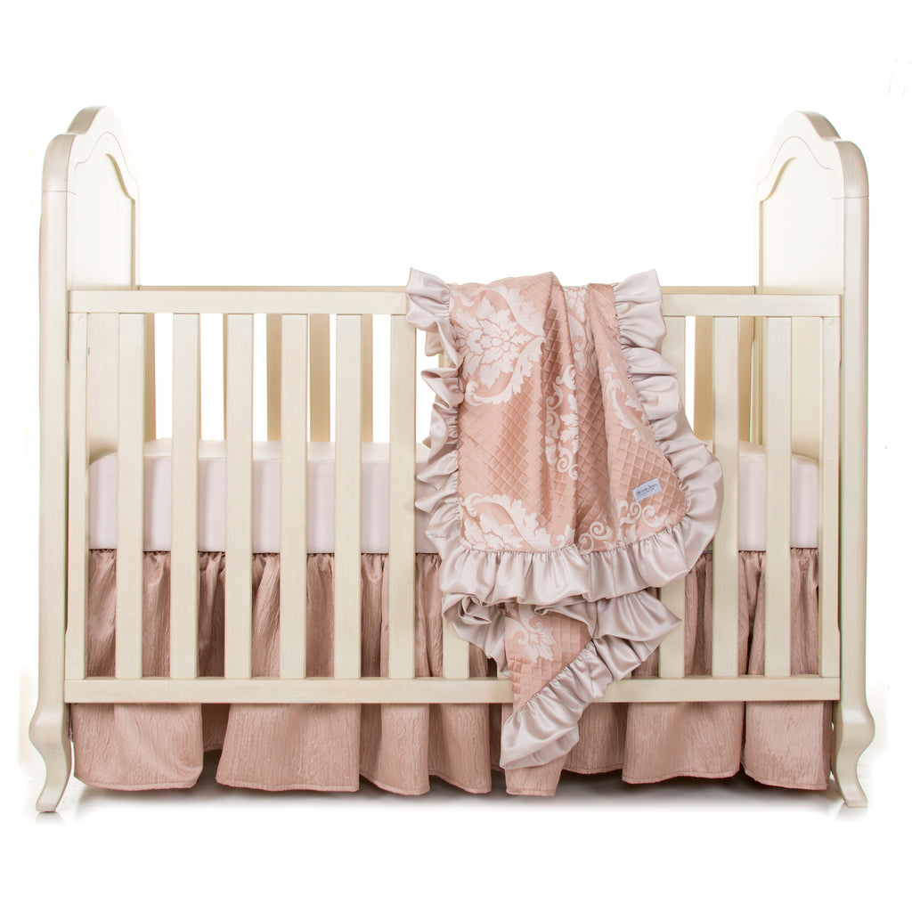 Angelica 3Pc Set (Includes quilt,   sheet, crib skirt) - Shop Baby Slings & wraps, Baby Bedding & Home Decor !