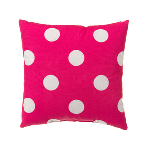 "Apollo Pillow-Pink Dot 14""x14"" - Shop Baby Slings & wraps, Baby Bedding & Home Decor !"