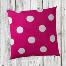 "Load image into Gallery viewer, Apollo Pillow-Pink Dot 14""x14"" - Shop Baby Slings & wraps, Baby Bedding & Home Decor !"