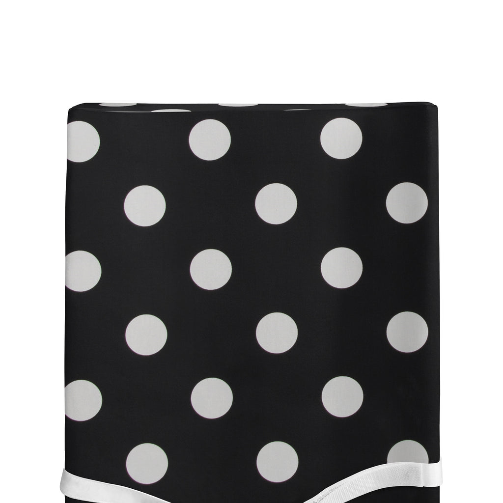 Apollo Changing Pad Cover Black and White Dot - Shop Baby Slings & wraps, Baby Bedding & Home Decor !