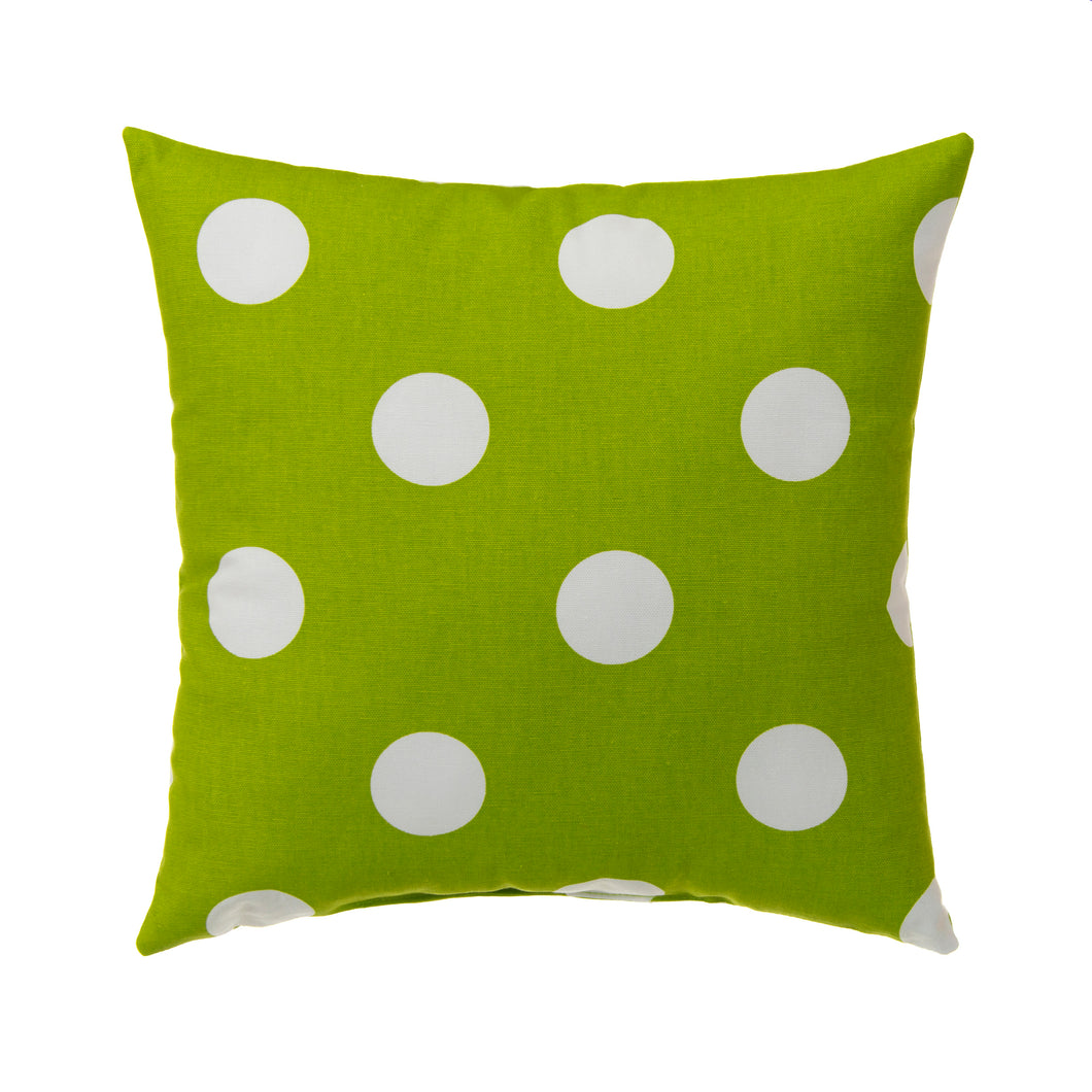 Apollo Pillow- Green Dot 14