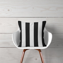 "Load image into Gallery viewer, Apollo Pillow- Black and White Stripe 14""x14"" - Shop Baby Slings & wraps, Baby Bedding & Home Decor !"