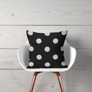 "Apollo Pillow- Black Dot 14""x14"" - Shop Baby Slings & wraps, Baby Bedding & Home Decor !"