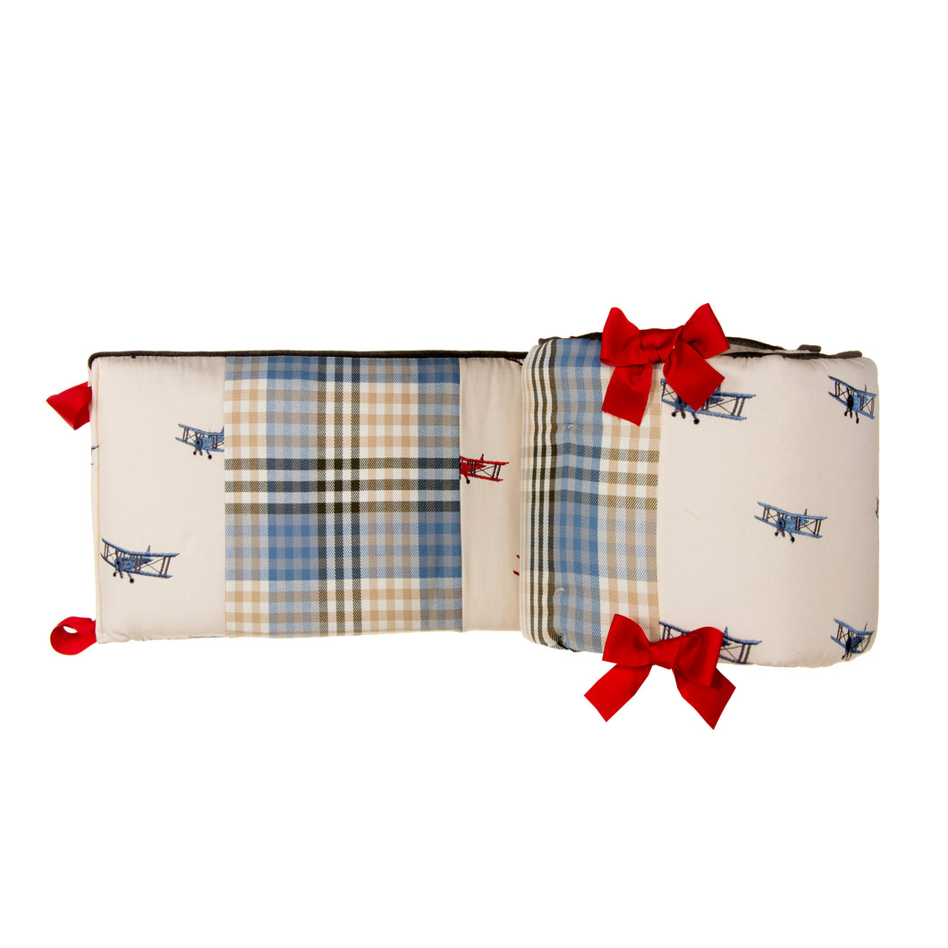AIR TRAFFIC BUMPER - Shop Baby Slings & wraps, Baby Bedding & Home Decor !