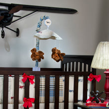 Load image into Gallery viewer, AIR TRAFFIC BUMPER - Shop Baby Slings & wraps, Baby Bedding & Home Decor !