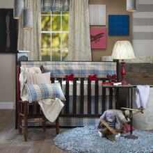 Load image into Gallery viewer, AIR TRAFFIC CONVERTIBLE CRIB RAIL PROTECTOR - Shop Baby Slings & wraps, Baby Bedding & Home Decor !
