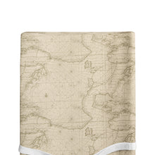 Load image into Gallery viewer, AIR TRAFFIC CHANGING PAD COVER MAP PRINT - Shop Baby Slings & wraps, Baby Bedding & Home Decor !