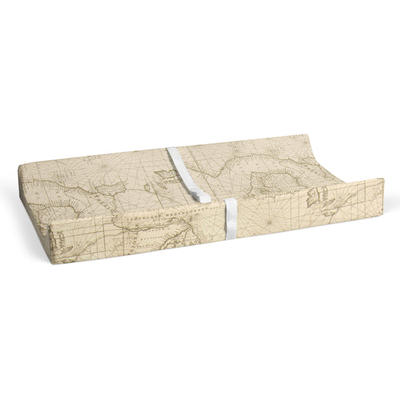 AIR TRAFFIC CHANGING PAD COVER MAP PRINT - Shop Baby Slings & wraps, Baby Bedding & Home Decor !