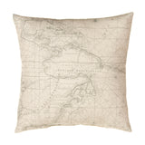 AIR TRAFFIC PILLOW-MAP - Shop Baby Slings & wraps, Baby Bedding & Home Decor !