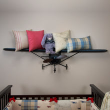 Load image into Gallery viewer, AIR TRAFFIC PILLOW-MAP - Shop Baby Slings & wraps, Baby Bedding & Home Decor !
