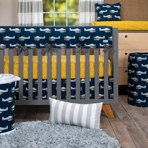 First Flight  Crib Rail Protector - Shop Baby Slings & wraps, Baby Bedding & Home Decor !