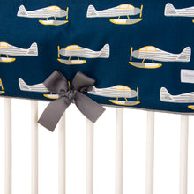Load image into Gallery viewer, First Flight  Crib Rail Protector - Shop Baby Slings & wraps, Baby Bedding & Home Decor !