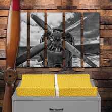 Load image into Gallery viewer, FIRST FLIGHT CHANGING PAD COVER (DOT PRINT) - Shop Baby Slings & wraps, Baby Bedding & Home Decor !