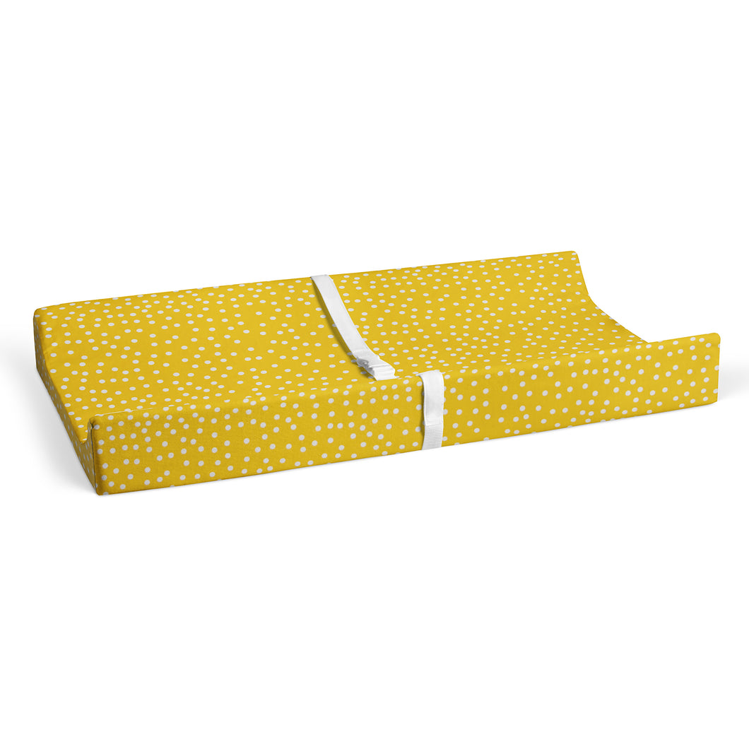 FIRST FLIGHT CHANGING PAD COVER (DOT PRINT) - Shop Baby Slings & wraps, Baby Bedding & Home Decor !