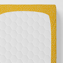 Load image into Gallery viewer, First Flight Fitted Sheet (Yellow ) - Shop Baby Slings & wraps, Baby Bedding & Home Decor !