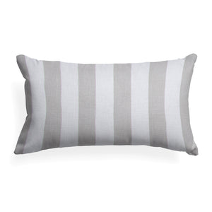 First Flight Pillow- Rectangluar Grey Stripe - Shop Baby Slings & wraps, Baby Bedding & Home Decor !