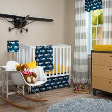 "Load image into Gallery viewer, First Flight Drapery Panels (Grey) (Approximately 90x40"")(Lined) - Shop Baby Slings & wraps, Baby Bedding & Home Decor !"