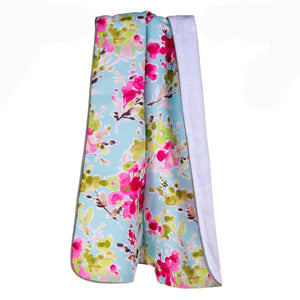 Cherry Blossom 3Pc Set (Includes quilt, sheet, crib skirt) - Shop Baby Slings & wraps, Baby Bedding & Home Decor !