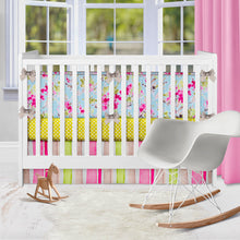 Load image into Gallery viewer, Cherry Blossom Bumper - Shop Baby Slings & wraps, Baby Bedding & Home Decor !