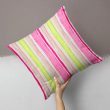 Load image into Gallery viewer, Cherry Blossom Pillow- Stripe - Shop Baby Slings & wraps, Baby Bedding & Home Decor !