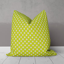 Load image into Gallery viewer, Cherry Blossom Pillow-Green Dot - Shop Baby Slings & wraps, Baby Bedding & Home Decor !