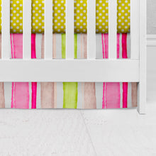 Load image into Gallery viewer, Cherry Blossom Crib Skirt - Shop Baby Slings & wraps, Baby Bedding & Home Decor !