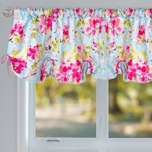 "Load image into Gallery viewer, Cherry Blossom Window Valance (Floral) (Approximately 54""x23"") - Shop Baby Slings & wraps, Baby Bedding & Home Decor !"
