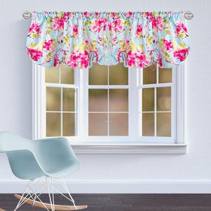 "Cherry Blossom Window Valance (Floral) (Approximately 54""x23"") - Shop Baby Slings & wraps, Baby Bedding & Home Decor !"