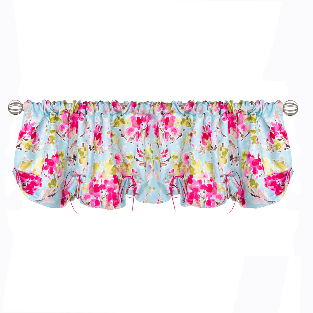 Cherry Blossom Window Valance (Floral) (Approximately 54