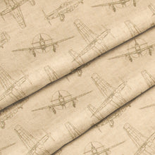 Load image into Gallery viewer, Airplanes - Natural Pillow - Shop Baby Slings & wraps, Baby Bedding & Home Decor !