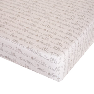 All My Love Fitted Sheet - Shop Baby Slings & wraps, Baby Bedding & Home Decor !