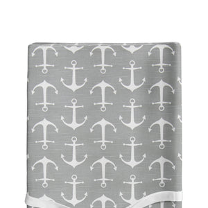 Anchors Away Changing Pad Cover - Shop Baby Slings & wraps, Baby Bedding & Home Decor !