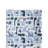 Dino Blue Changing Pad Cover - Shop Baby Slings & wraps, Baby Bedding & Home Decor !
