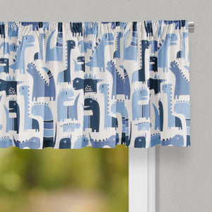 Dino Blue Valance - Shop Baby Slings & wraps, Baby Bedding & Home Decor !