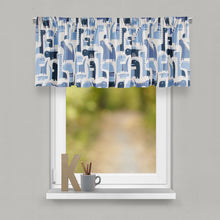 Load image into Gallery viewer, Dino Blue Valance - Shop Baby Slings & wraps, Baby Bedding & Home Decor !