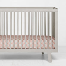 Load image into Gallery viewer, Elephant Herd - Blush Fitted Sheet - Shop Baby Slings & wraps, Baby Bedding & Home Decor !